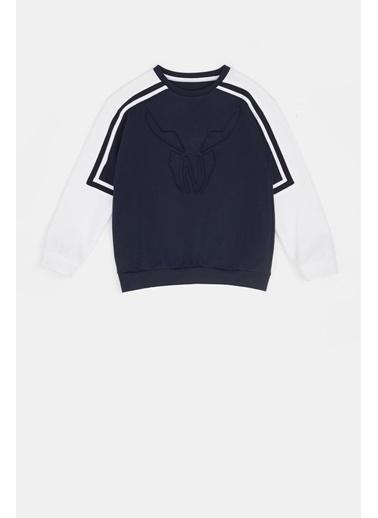 Nebbati Erkek Çocuk Lacivert S-Shirt 20Pfwnb3403 Lacivert